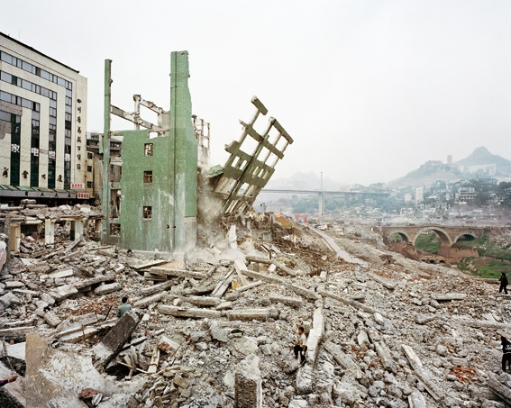 Wan Zhou #4 Three Gorges Dam Project, Yangtze River, 2002