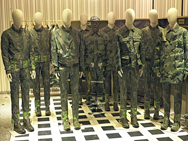 HIDING IN THE CITY, Camouflage (Valentino), 2013
